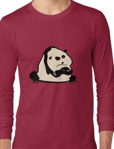 panda bear Long Sleeve T-Shirt