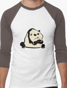 panda bear Men's Baseball ¾ T-Shirt
