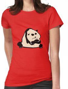 panda bear Womens Fitted T-Shirt