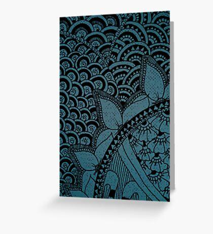 Mixture Patterns v.3 Greeting Card