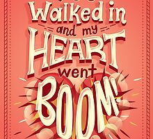 Heart went boom by Risa Rodil