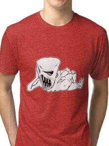 rock monster Tri-blend T-Shirt