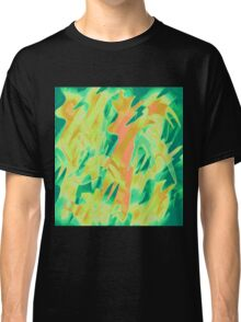 Green and orange design  Classic T-Shirt