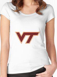 Virginia Tech Women's Fitted Scoop T-Shirt