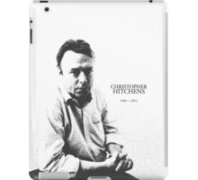 Christopher Hitchens - pen ink style iPad Case/Skin