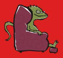 the comfy bearded dragon One Piece - Long Sleeve