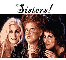 Sister Witches Photographic Print