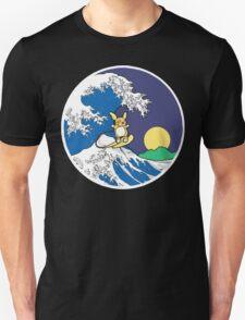 The Great Wave of Alola (Night) Unisex T-Shirt