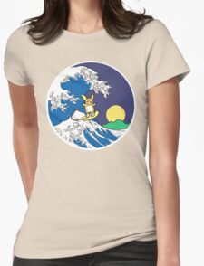 The Great Wave of Alola (Night) Womens Fitted T-Shirt