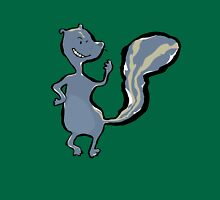 skunk Womens Fitted T-Shirt