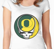 The Dead in Eugene Women's Fitted Scoop T-Shirt