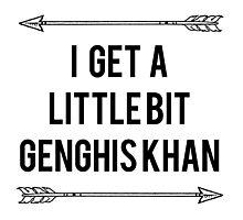 Genghis Khan Photographic Print