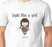 Fight Like a Girl - Warrior Princess Unisex T-Shirt