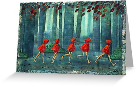 5 lil reds 1 by Maria Evestus