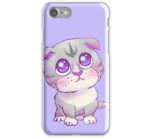 Purple Eyed Kitty iPhone Case/Skin