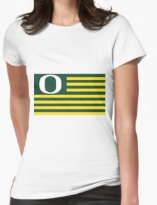 Flag of the Oregon Nation! Womens Fitted T-Shirt
