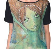Green Angel Chiffon Top