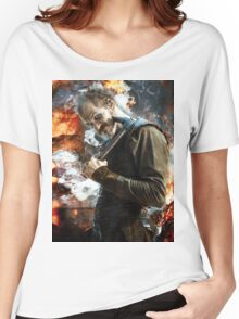 Floki- Fire and ash Women's Relaxed Fit T-Shirt