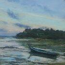 Low tide, sunrise, Phuket by Terri Maddock
