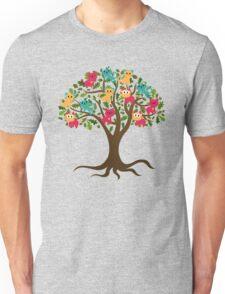 Tree of life tree of Cats Unisex T-Shirt