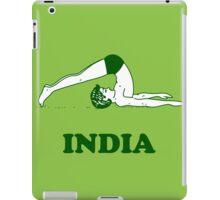 India - Halasana Yoga T-shirt iPad Case/Skin