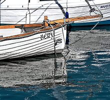 Skiffs At Lyme Regis Harbour - Toned by Susie Peek