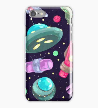 Painted Space iPhone Case/Skin