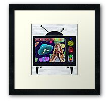 Painted Space Framed Print