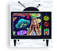 Painted Space Canvas Print