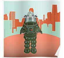 Sci Fi Robot Poster