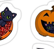 Halloween Kitty Sticker Pack Sticker