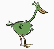 green bird One Piece - Long Sleeve