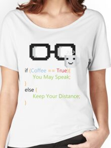 Coffee if loop Women's Relaxed Fit T-Shirt