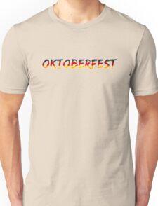 Oktoberfest Classic Vintage Germany Flag Unisex T-Shirt