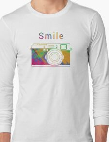 Smile on the camera Long Sleeve T-Shirt
