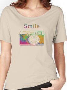 Smile on the camera Women's Relaxed Fit T-Shirt