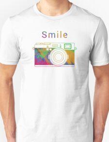 Smile on the camera Unisex T-Shirt
