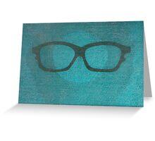 Summer Glasses  Greeting Card