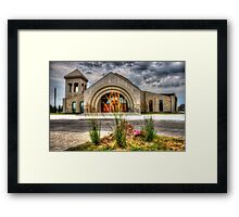 House of a god Framed Print