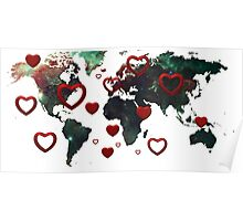 Map of love Poster