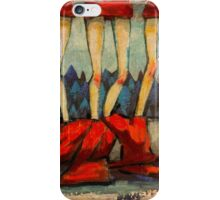 5 Little Reds 2 iPhone Case/Skin
