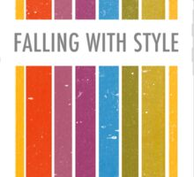 Fall with Style Sticker