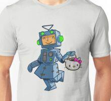 Halloween robot girl costume Unisex T-Shirt
