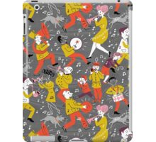 Mid Century Marching Band Parade iPad Case/Skin