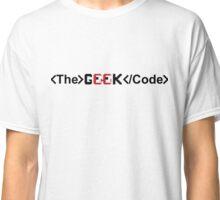 <The> Geek </Code> Classic T-Shirt
