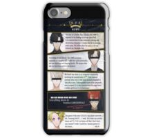 Classified RFA Members  iPhone Case/Skin