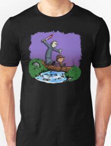 Freddy and Jason Parody mash up Unisex T-Shirt