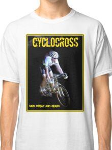 CYCLOCROSS; Vintage Bicycle Racing Advertising Print Classic T-Shirt