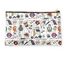 Sherlock Collage (color) Studio Pouch