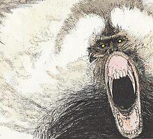 BEAST#6 Baboon by gogeas